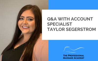 Q&A: Admissions Process and Massage Therapy Program