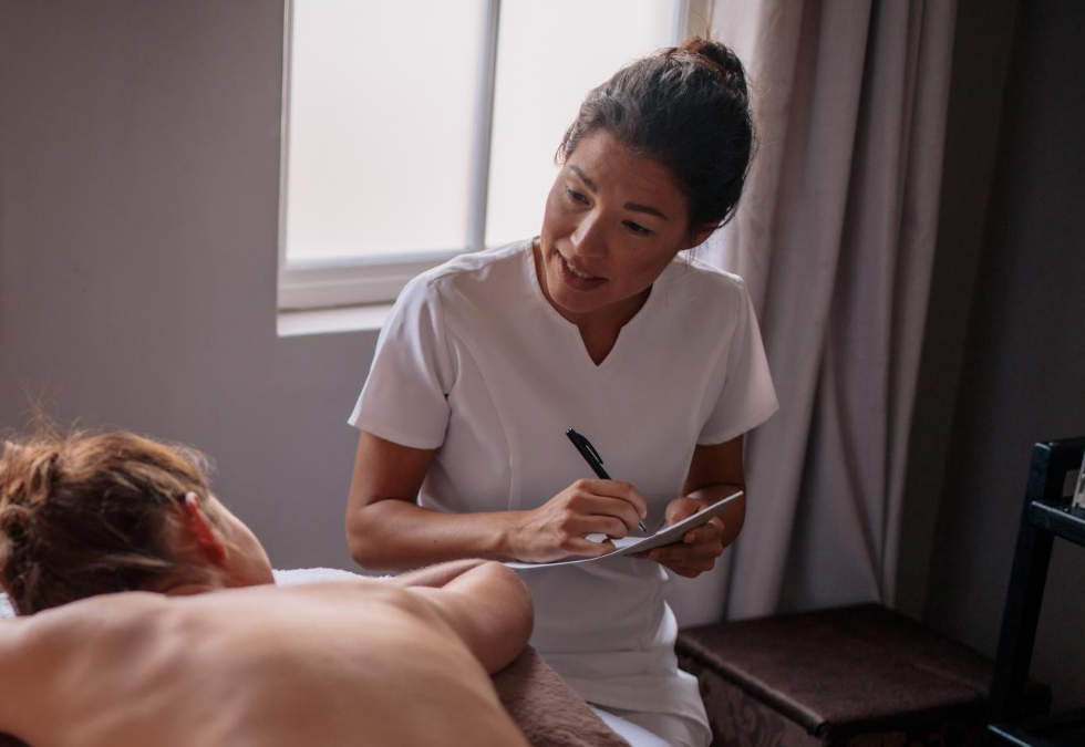 what to tell massage therapist