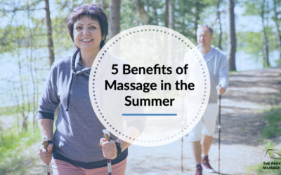 5 Benefits of Massage in the Summer